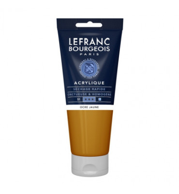 Tinta Acrílica Lefranc & Bourgeois 200ml 302 Yellow Ochre