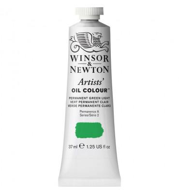 Tinta Óleo Artist 37ml S2 Permanent Green Light 483 Winsor & Newton