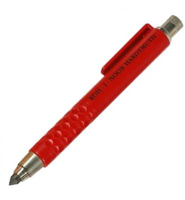 Lapiseira Portaminas Koh-I-Noor 5.6mm 5305 Vermelha