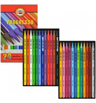 Lápis Integral Koh-I-Noor 24 Cores