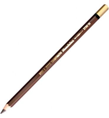 Lápis  de Cor Aquarelável Mondeluz 33 Dark Brown