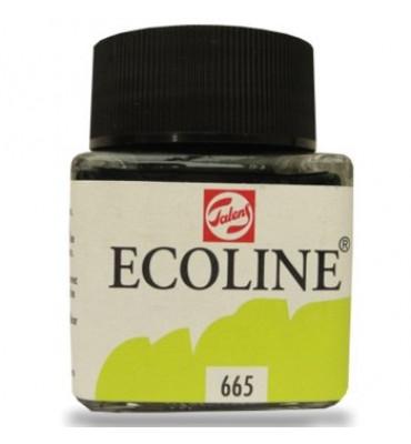 Tinta Ecoline Talens 30ml 665 Spring Green