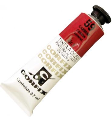 Tinta a Óleo Corfix 37ml 059 Carmim G1
