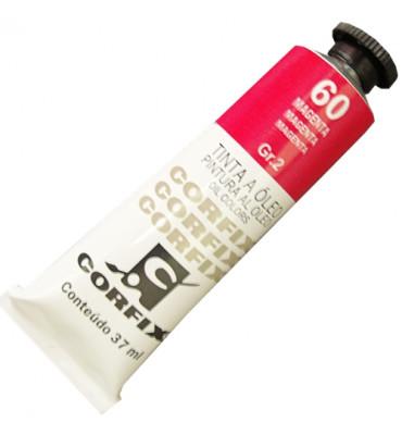 Tinta a Óleo Corfix 37ml 060 Magenta G2