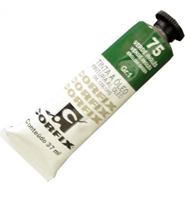 Tinta a Óleo Corfix 37ml 075 Verde Inglês G1