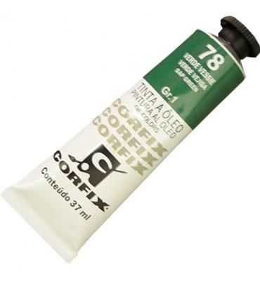 Tinta a Óleo Corfix 37ml 078 Verde Vessie G1