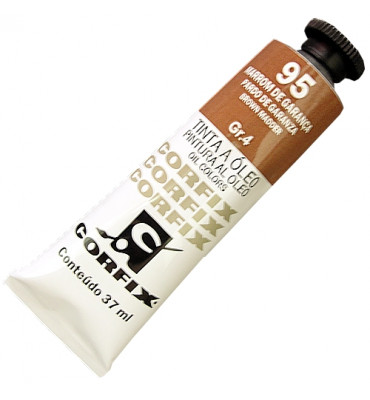 Tinta a Óleo Corfix 37ml 095 Marrom de Garança G4