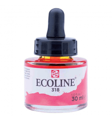 Tinta Ecoline Talens 30ml 318 Carmine