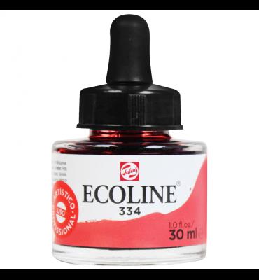 Tinta Ecoline Talens 30ml 334 Scarlet