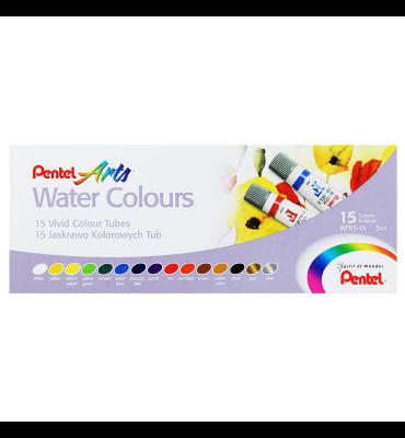Tinta Aquarela Pentel 15 Cores