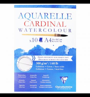 Bloco de Papel Para Aquarela Cardinal A4 300g