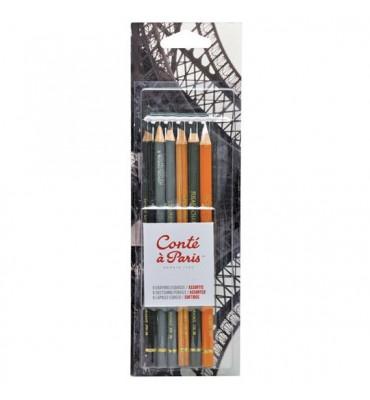 Kit de Lápis Conté à Paris Crayon e Grafite