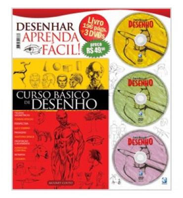 Curso Básico de Desenho 3 DVDS
