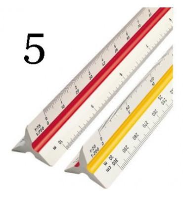 Escalímetro Trident 30cm 7830 5