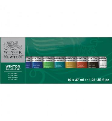 Kit Tinta Óleo Winsor & Newton Winton C/10 37ml
