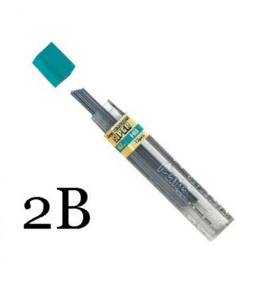 Grafite Pentel 0.7mm 2B 50