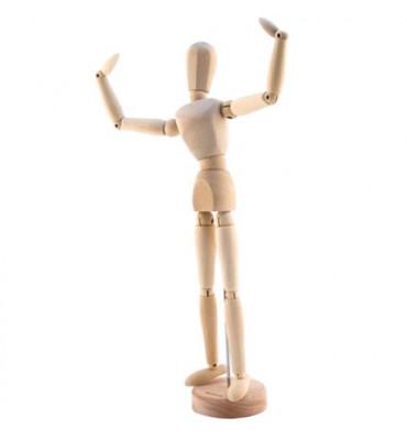 Boneco Articulado Para Desenho 30cm Masculino