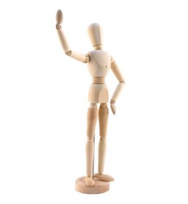 Boneco Articulado Para Desenho 30cm Feminino