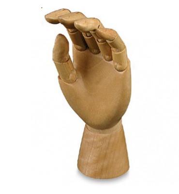 Mão Articulada Para Desenho 30cm Esquerda