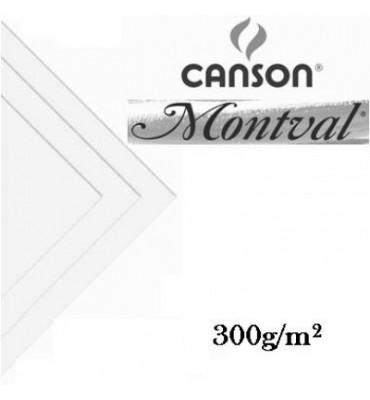 Papel Para Aquarela Montval Canson 50x65 300g/m²