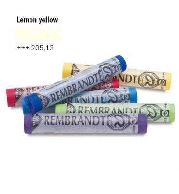 Pastel Seco Rembrandt Talens 205.12 Lemon Yellow