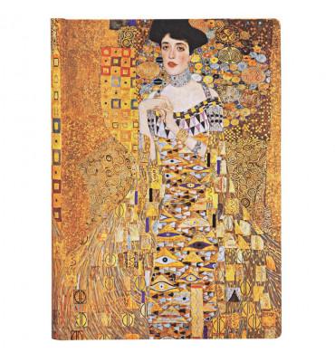 Paperblanks Klimt´s Portrait of Adele Pautado Capa Dura Midi