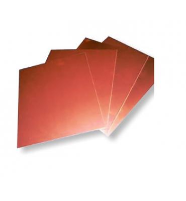 Placa de Cobre Para Gravura 15x15