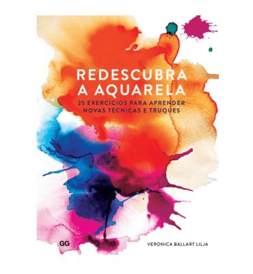 Livro Redescubra a Aquarela - Veronica Ballart Lilja
