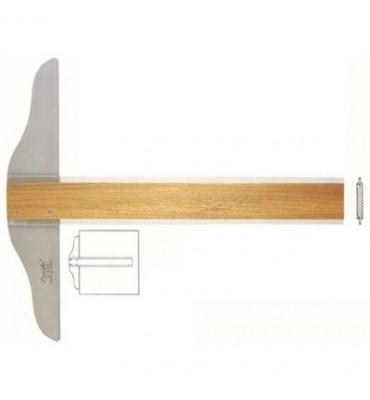 Régua T Trident 5305 50cm