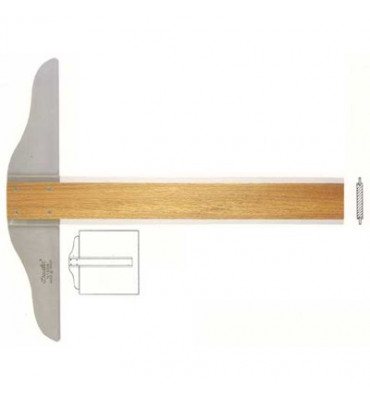 Régua T Trident 5308 80cm
