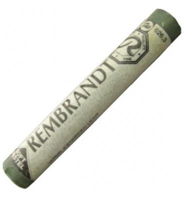 Pastel Seco Rembrandt Talens 626.3 Cinnabar Green Light