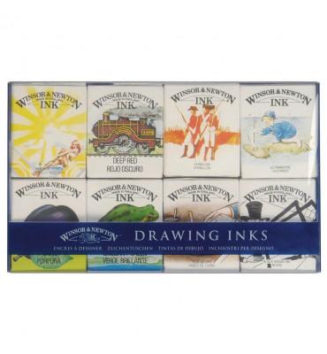 Tinta Para Desenho Winsor & Newton William Collect C/8 Cores