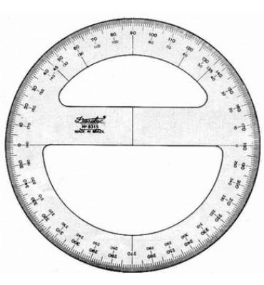 Transferidor Trident 8312 360°
