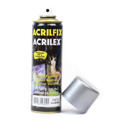Verniz Spray Acrilex Acrilfix 210g Semibrilhante