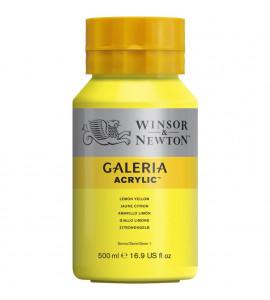 Tinta Acrílica Galeria W&N 346 Lemon Yellow 500ml