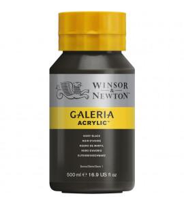 Tinta Acrílica Galeria W&N 331 Ivory Black 500ml