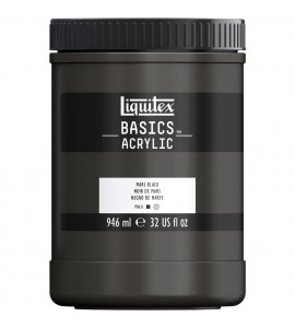 Tinta Acrílica Liquitex Basics 276 Mars Black 946ml