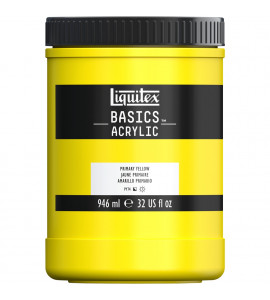 Tinta Acrílica Liquitex Basics 410 Primary Yellow 946ml