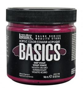 Tinta Acrílica Liquitex Basics 115 Deep Violet 946ml