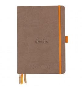 Bloco Goalbook Rhodia Capa Dura Chocolate A5