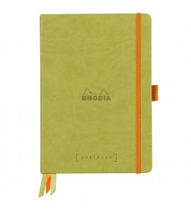 Bloco Goalbook Rhodia Capa Dura Anise A5