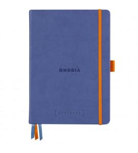 Bloco Goalbook Rhodia Capa Dura Sapphire A5