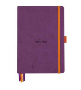 Bloco Goalbook Rhodia Capa Dura Purple A5