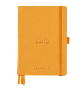 Bloco Goalbook Rhodia Capa Dura Orange A5