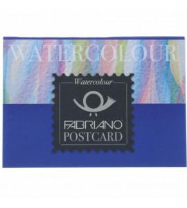 Bloco Fabriano Postcard Aquarela 300g/m² 10.5x14.8cm