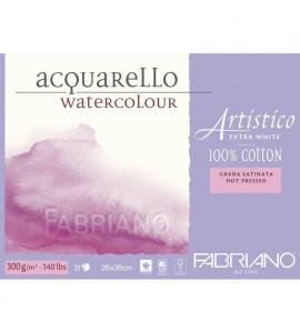Bloco Fabriano Artístico Satinado 300g/m² 26x36cm