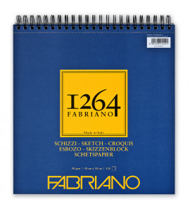 Bloco 1264 Sketch Fabriano 120 Folhas 30x30cm
