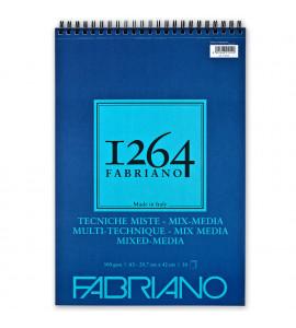 Bloco 1264 Mixed Media Fabriano A3 30 Folhas