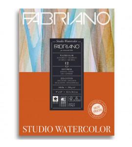 Bloco Fabriano Watercolor Satinado 300g/m² 22.9x30.5cm
