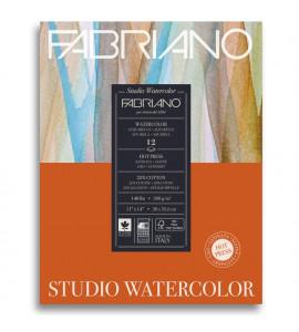 Bloco Fabriano Watercolor Satinado 300g/m² 28x35.6cm